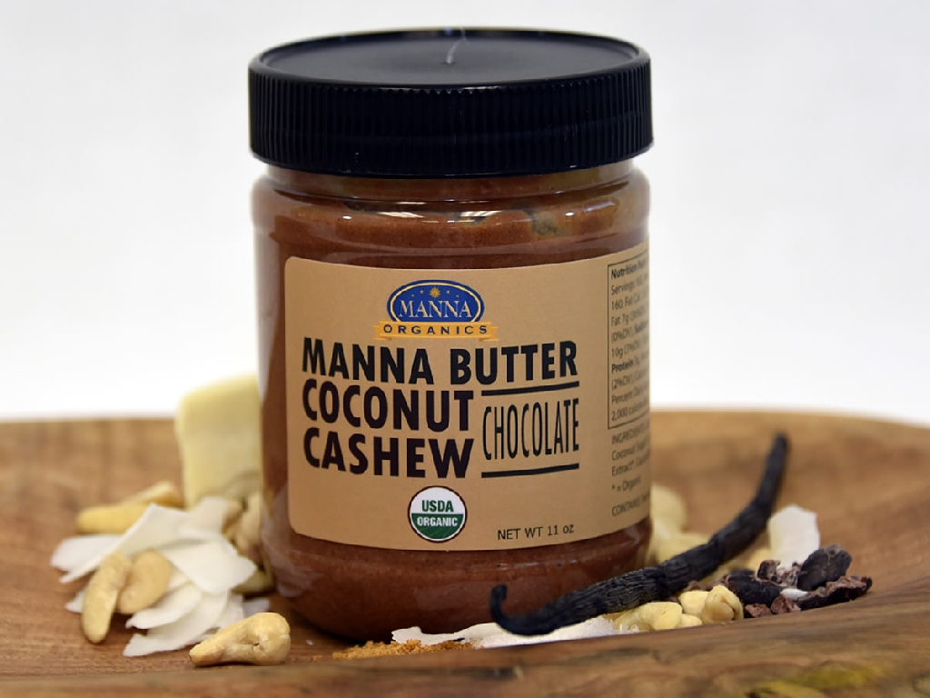 Organic Nut Butter Coconut Cashew Chocolate